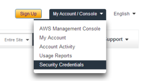 aws-security-credentials