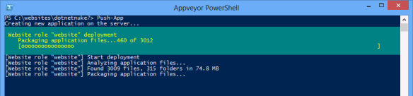 powershell-push-app