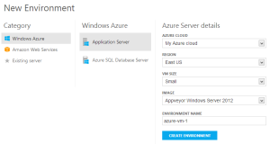 web-ui-new-azure-vm-environment